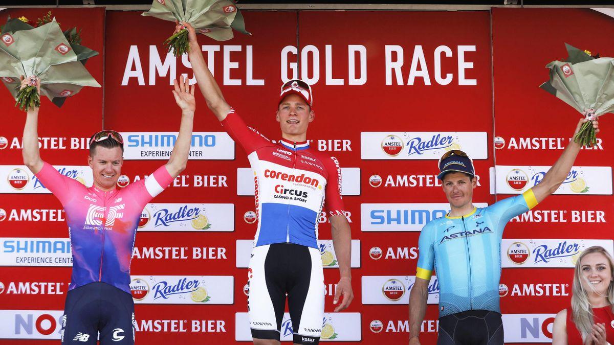 Amstel Gold Race 2019- a dobogó