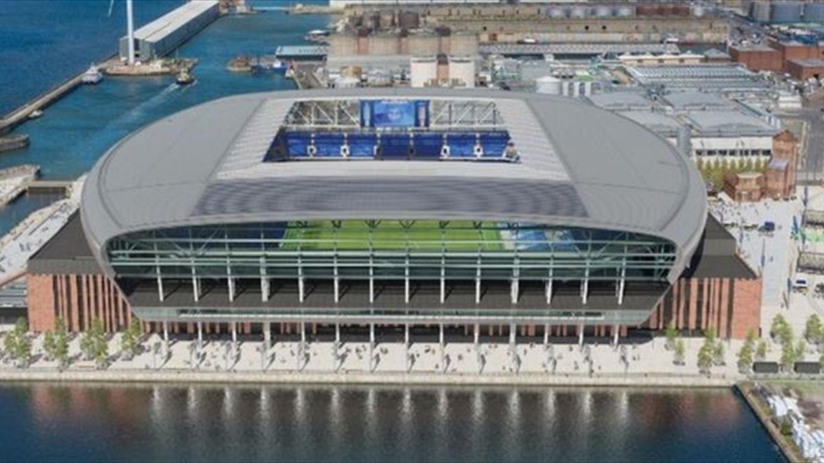 Новый стадион «Эвертона»