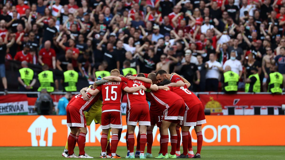 Болельщики на матче Евро-2020 Венгрия – Португалия