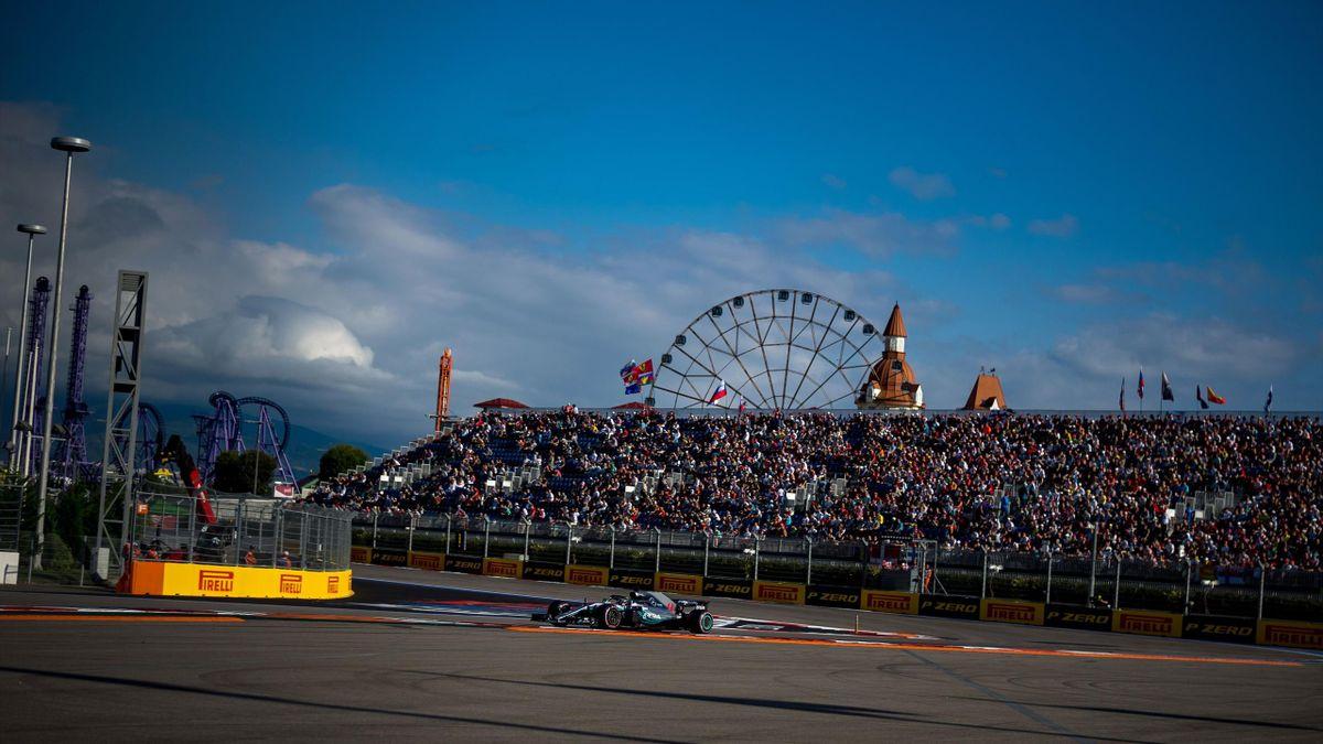 Formula-1, Russian GP, Sochi, 2018