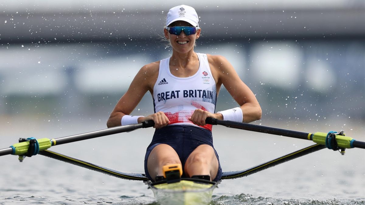 GB's Thornley wins heat in women's single sculls