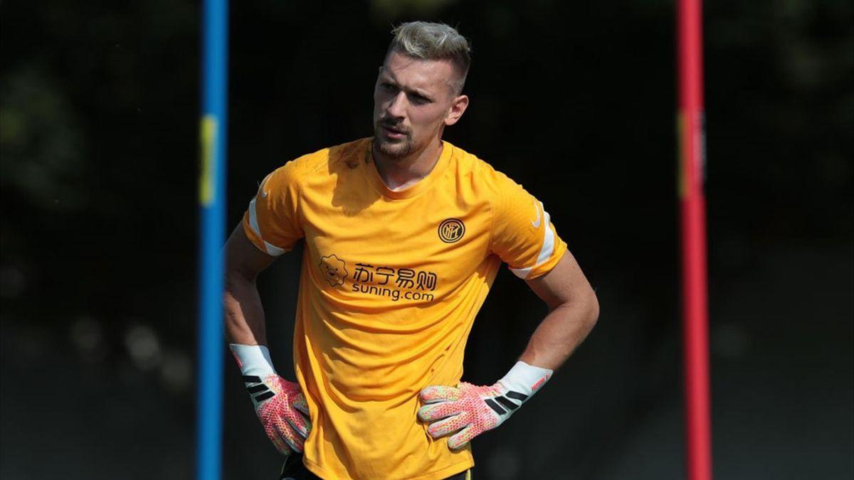 Ionuț Radu, portarul lui Inter