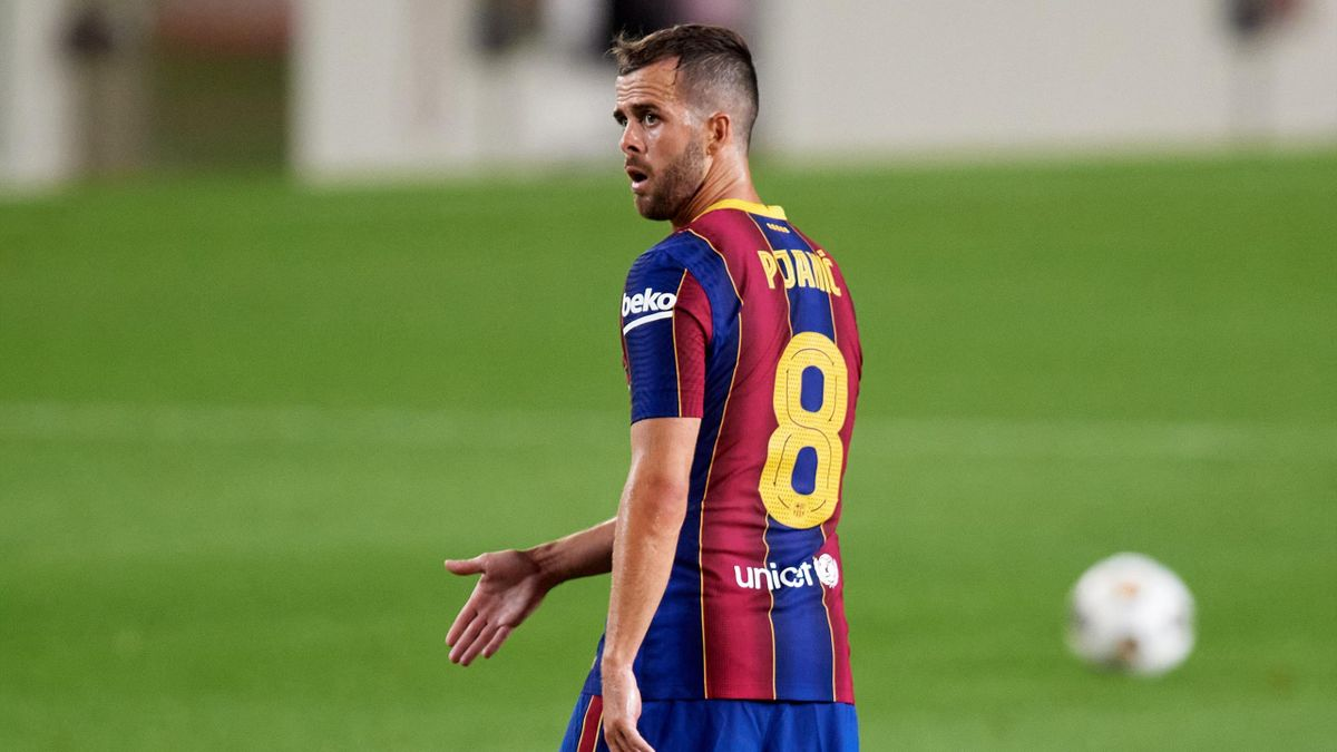Miralem Pjanic avec le FC Barcelone, 2020
