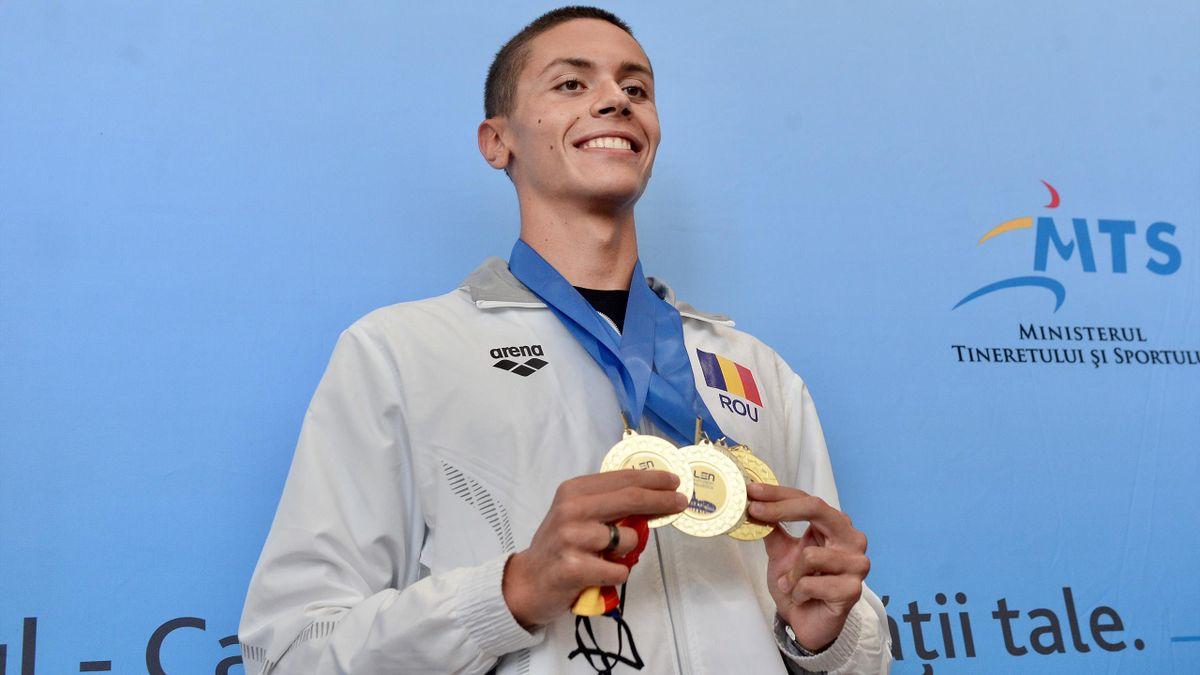 David Popovici e marea speranţă a României la Jocurile Olimpice
