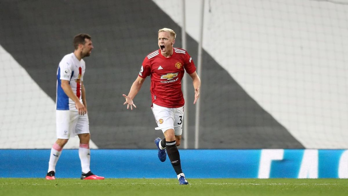 Donny van de Beek a marcat pentru Manchester United, la prima apariție