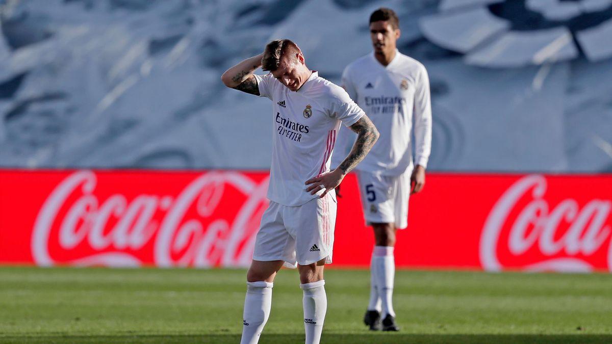 Toni Kroos (Real Madrid) nach der Pleite gegen UD Levante