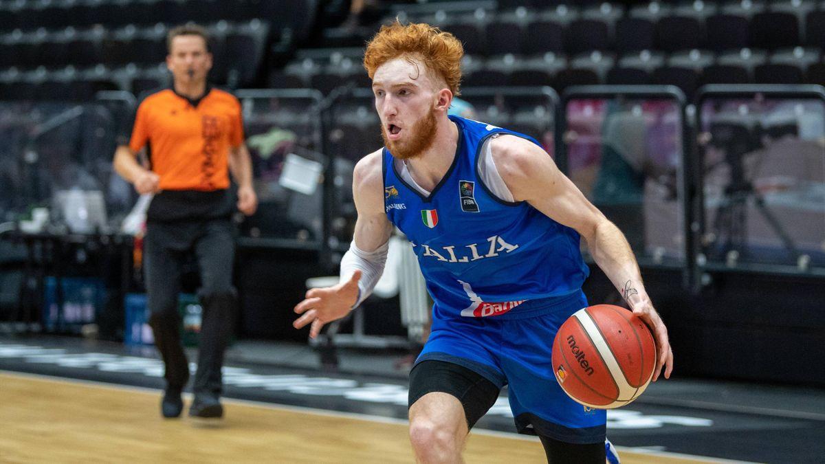 Nico Mannion, Italia, Torneo di Amburgo 2021