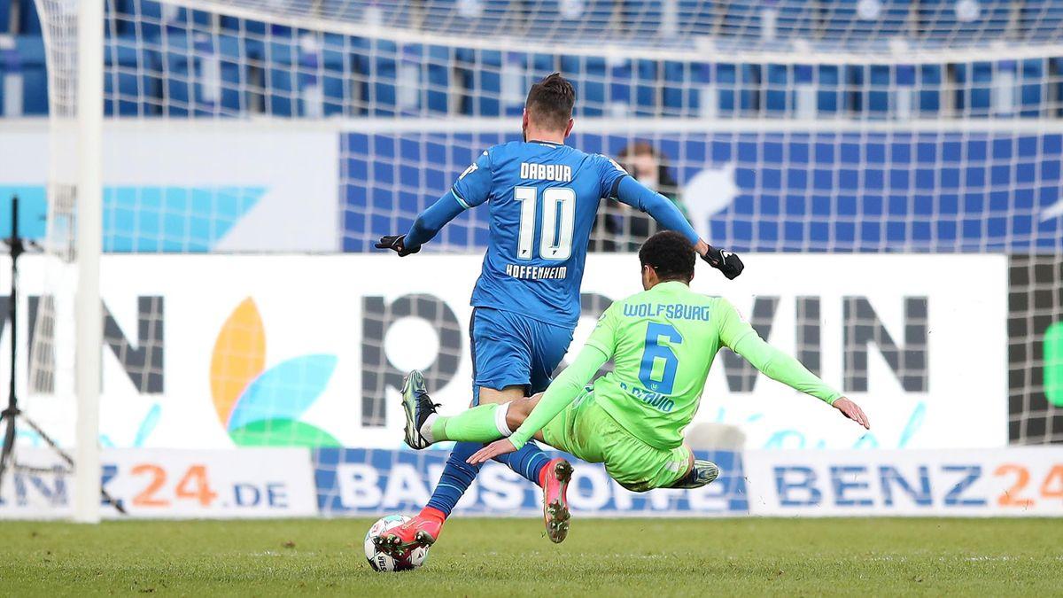 Paulo Otavio mit einer Notbremse gegen Hoffenheim