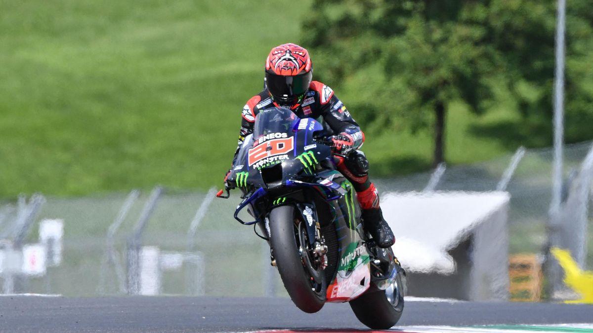 Fabio Quartararo (Yamaha) au GP d'Italie