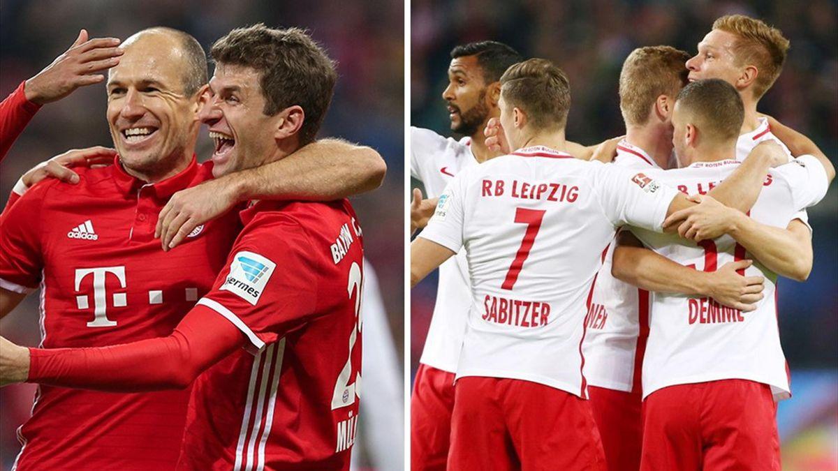 Bayern empfängt RB Leipzig
