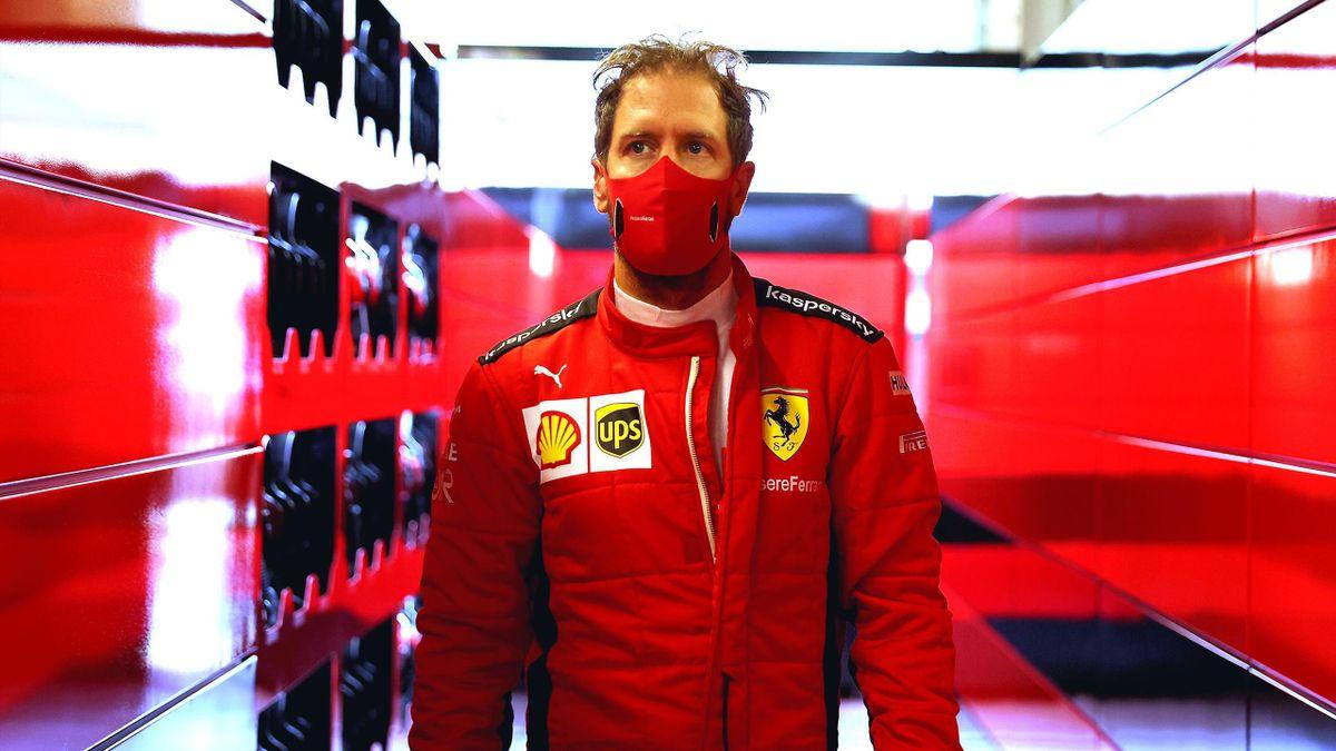 Sebastian Vettel (Ferrari) - GP of Abu Dhabi 2020