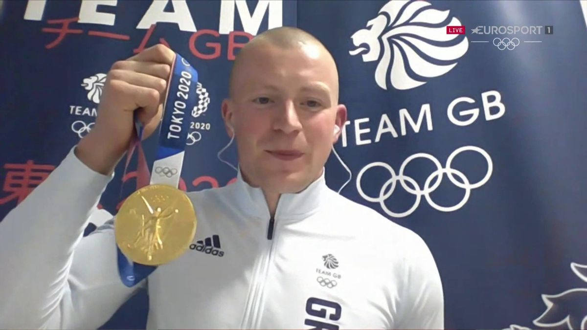 'Huge pride and emotion' - Peaty gives powerful interview after Tokyo gold