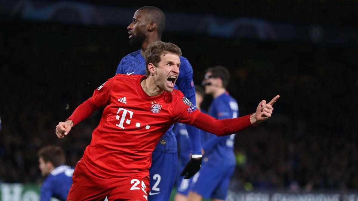 Thomas Müller   FC Bayern - FC Chelsea