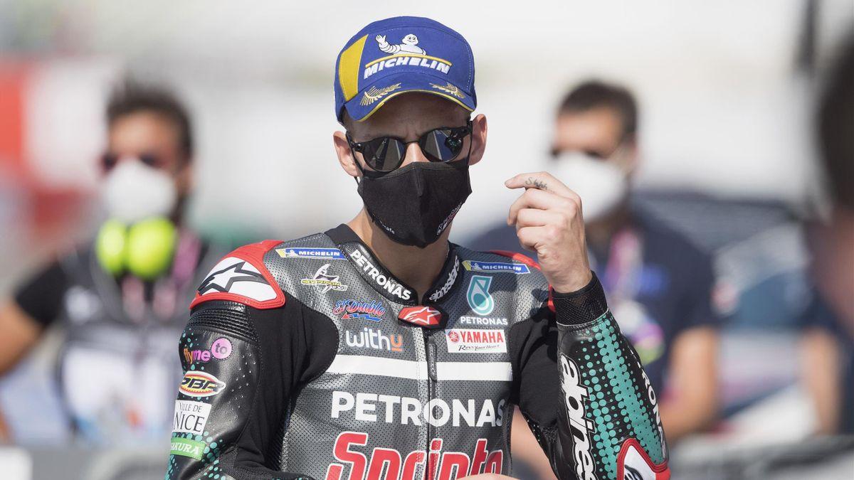 Fabio Quartararo lors du Grand Prix de Saint-Marin à Misano