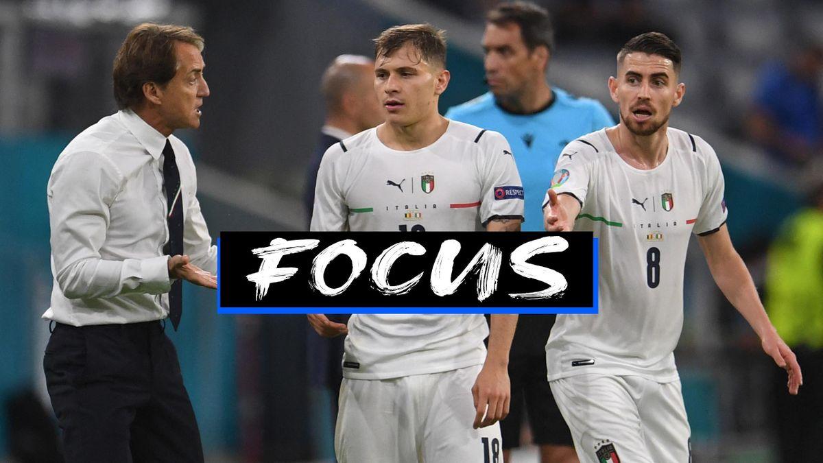 Focus Mancini, Barella e Jorginho