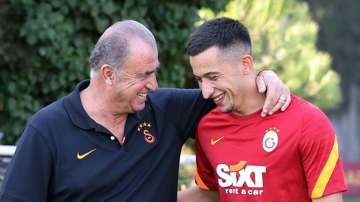 Olimpiu Moruțan și Fatih Terim la Galatasaray