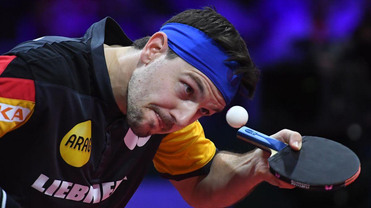 Timo Boll erreichte mit den DTTB-Herren das Halbfinale