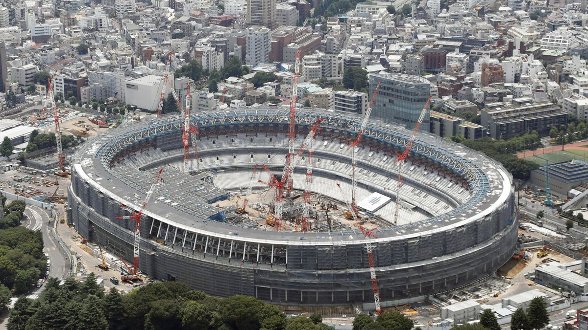New National Stadium for the Tokyo 2020