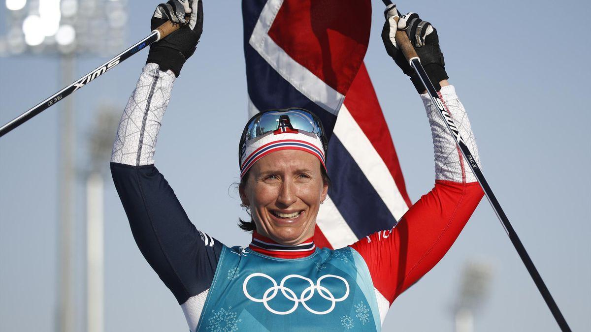 Marit Björgen sammelte 15 Olympiamedaillen