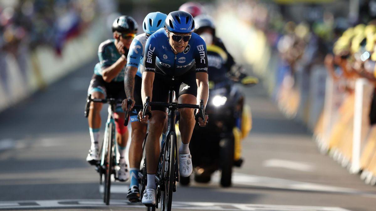 Edvald Boasson Hagen for NTT Pro Cycling Team under fjorårets Tour de France. I 2021 sykler nordmannen for Total Direct Energie.