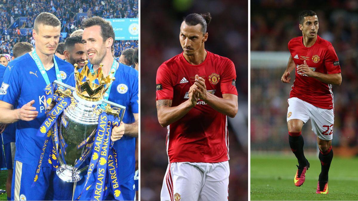 Der Supercup in England mit Zlatan Ibrahimovic und Robert Huth live auf Eurosport