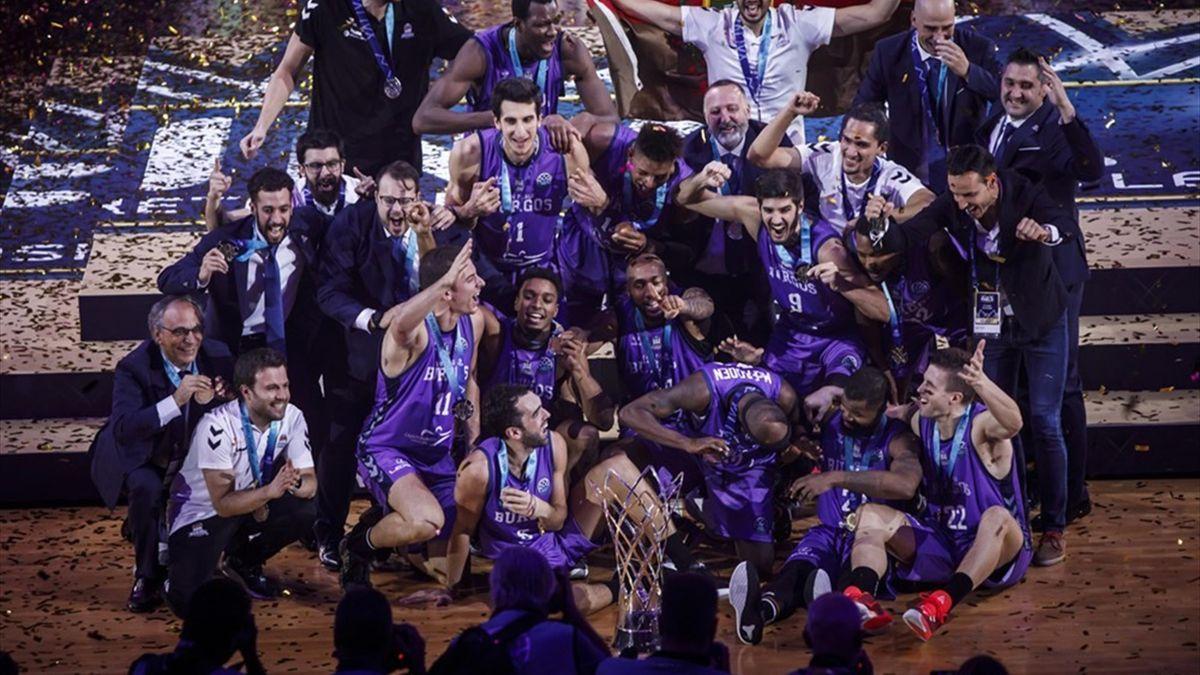 Hereda San Pablo Burgos (Champions League 2019/20). Fotografía: Champions League Basketball