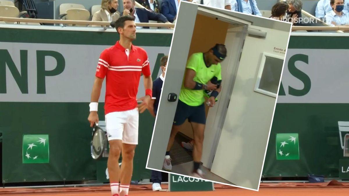 'It's just not on!' - Djokovic forced to wait as Nadal takes long break