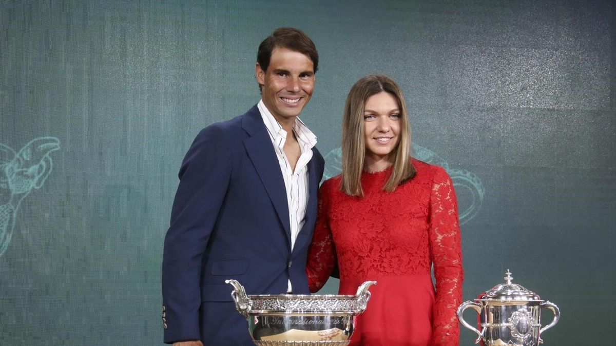 Rafael Nadal et Simona Halep