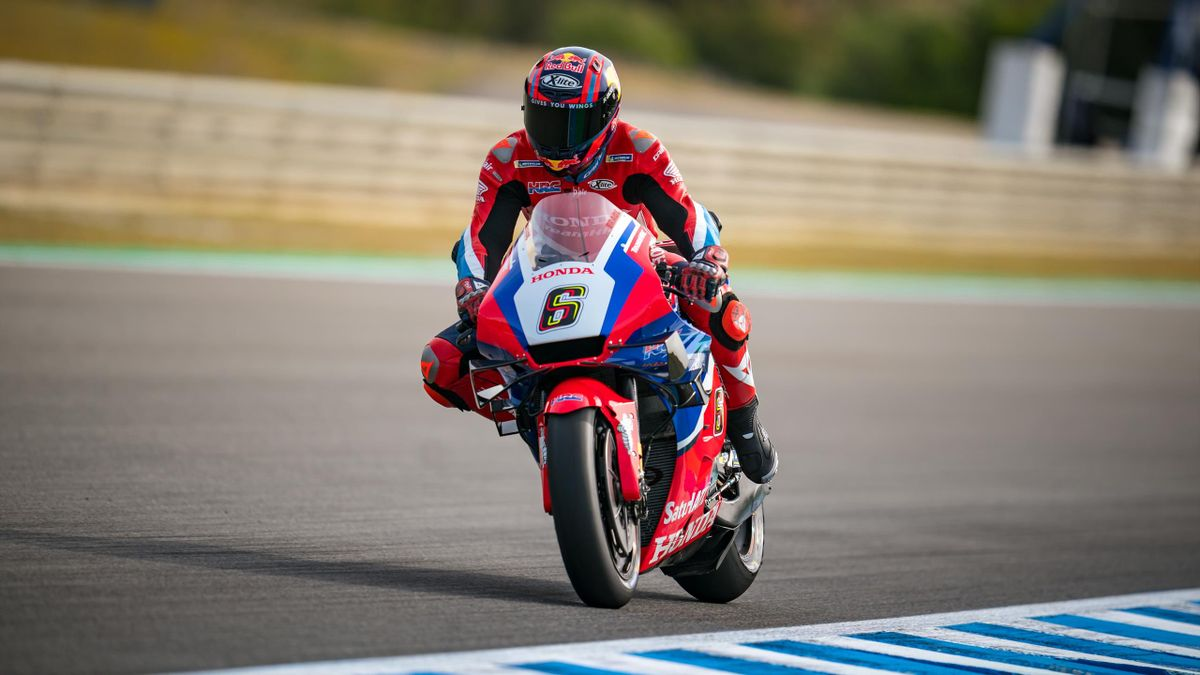 Stefan Bradl fuhr in Jerez in die Punkte