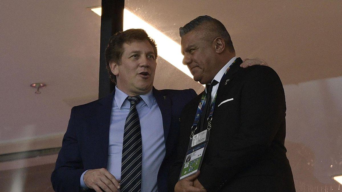Tapia (r.) übt Kritik nach verpassten Copa-Finale