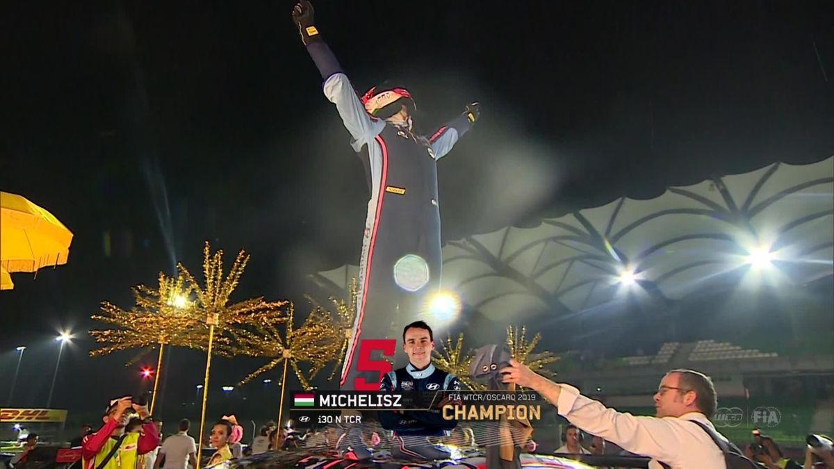 WTCR : Sepang - Finish Race 3