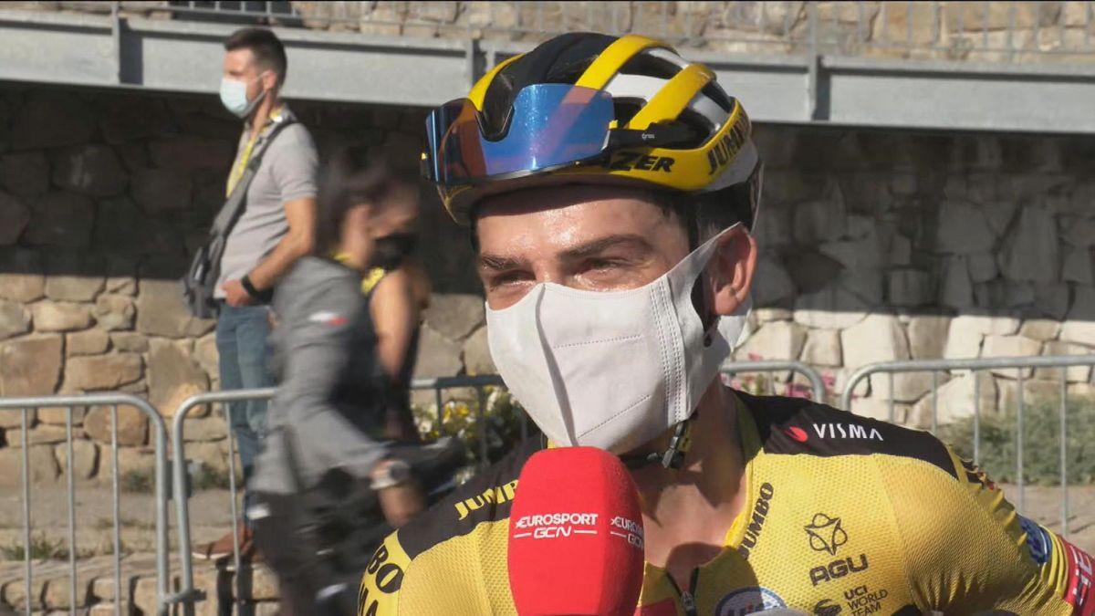Tour de France : stage 4 : Interview Sep Kuss