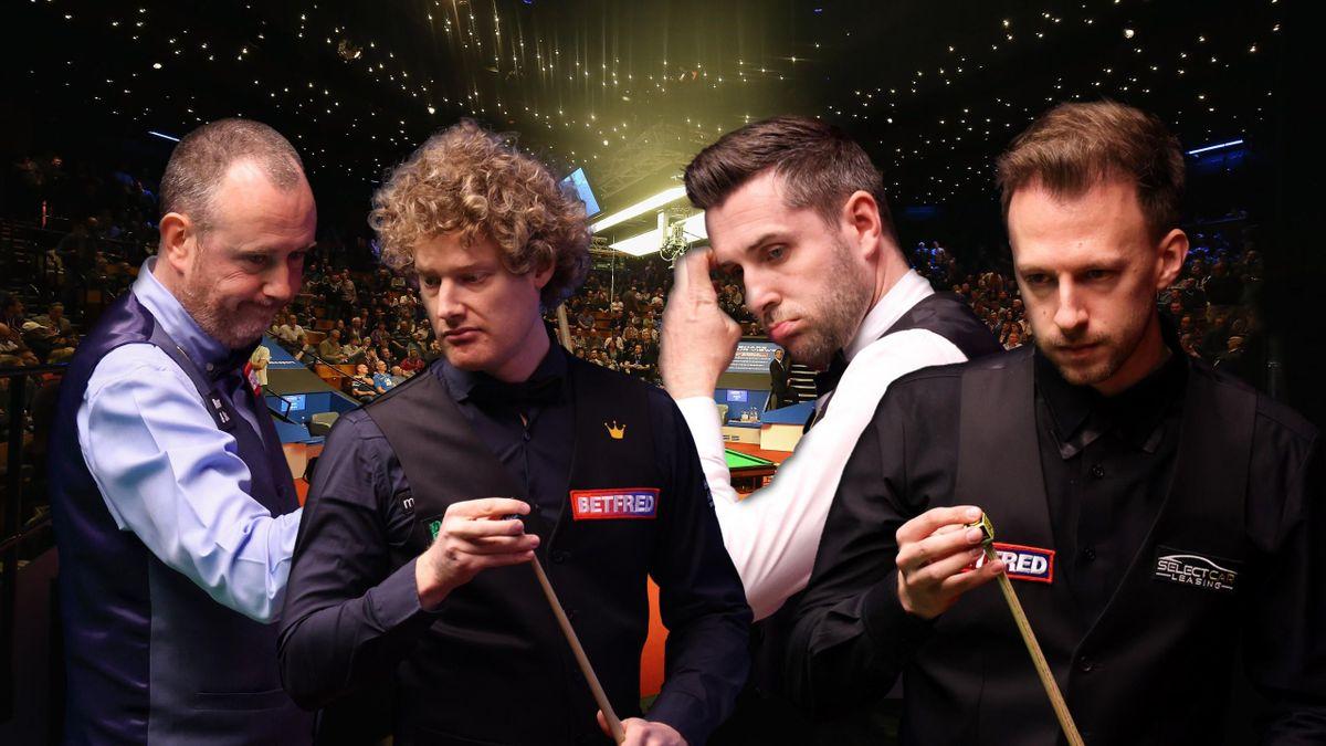 Mark Williams, Neil Robertson, Mark Selby és Judd Trump