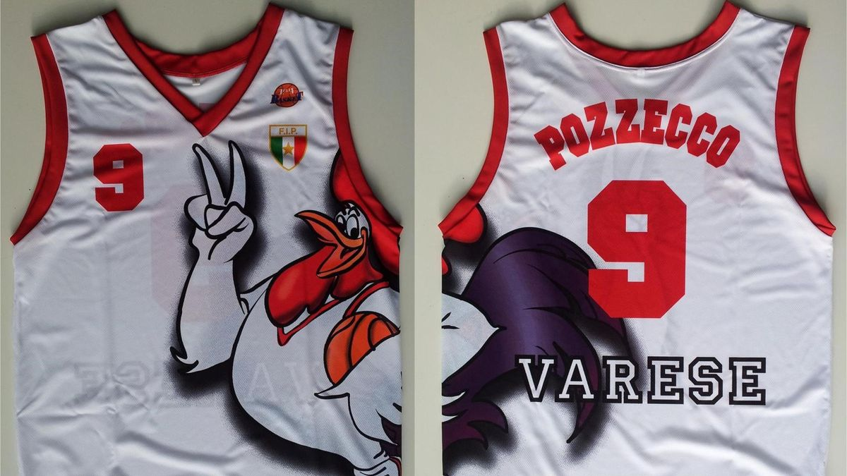 Roosters Varese jersey 1999
