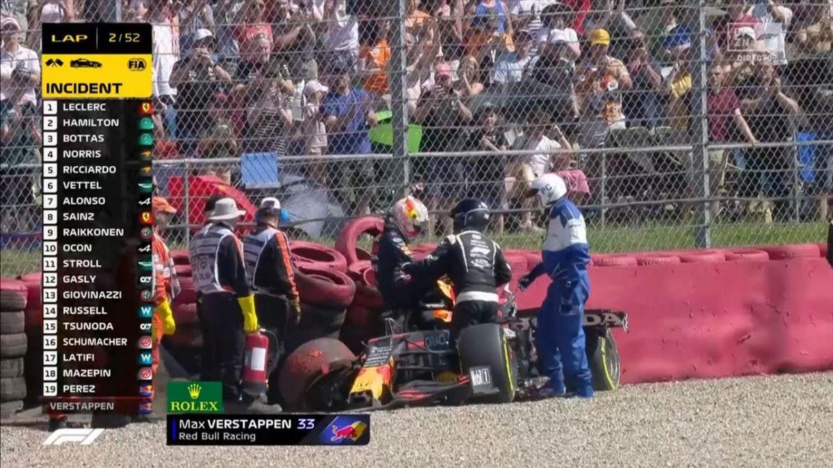 Max Verstappen (Red Bull). GP Gran Bretaña 2021. Captura: DAZN
