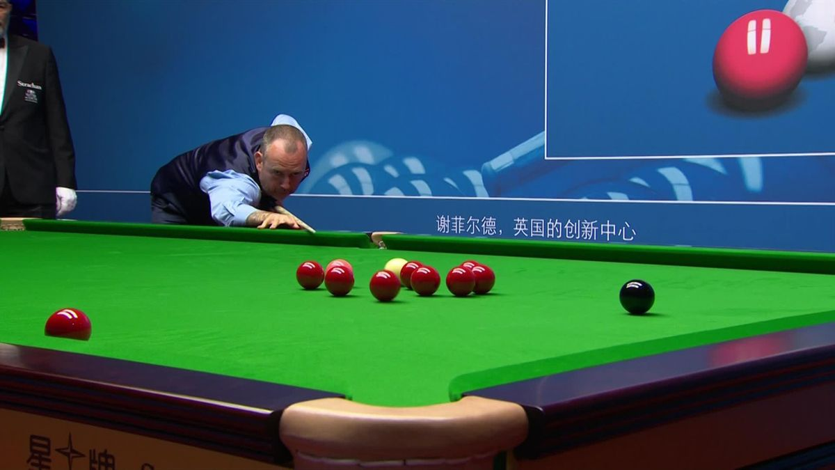 Snooker WC Sheffield: A sublime Mark Williams play