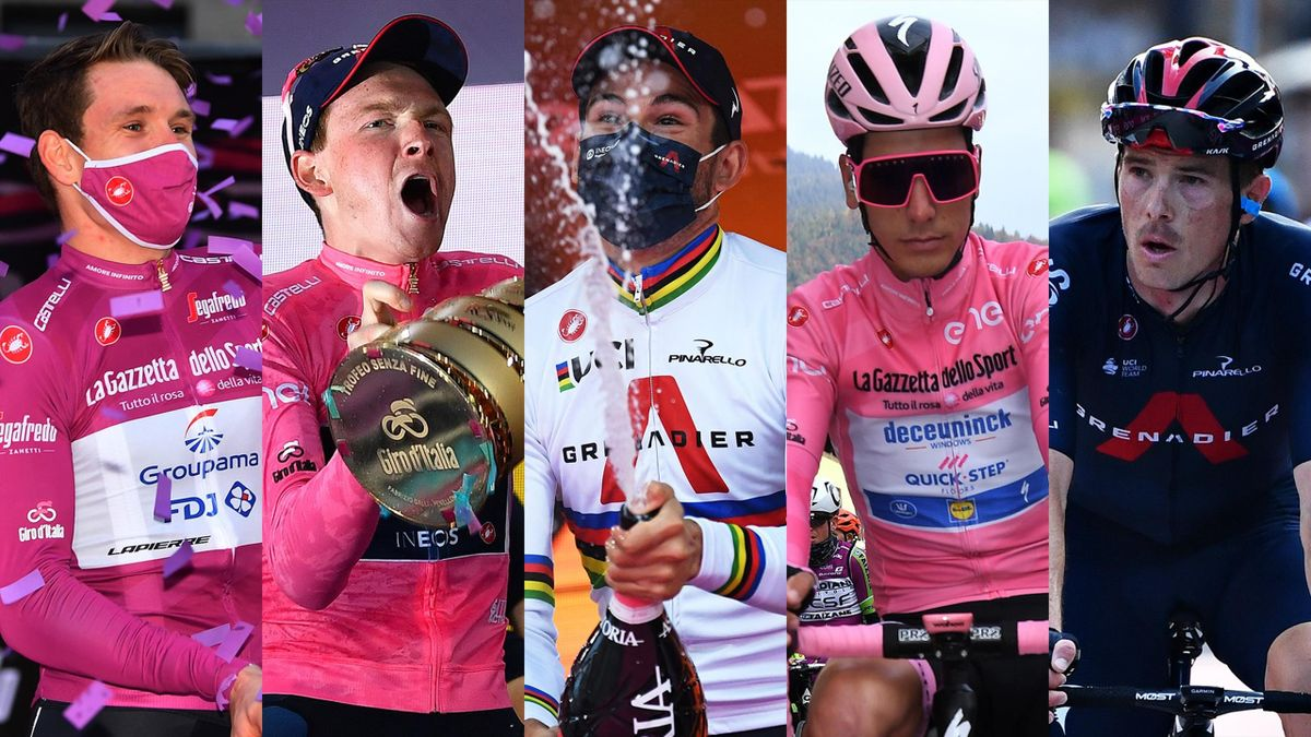 Five of the riders who made the 2020 Giro d'Italia so special...