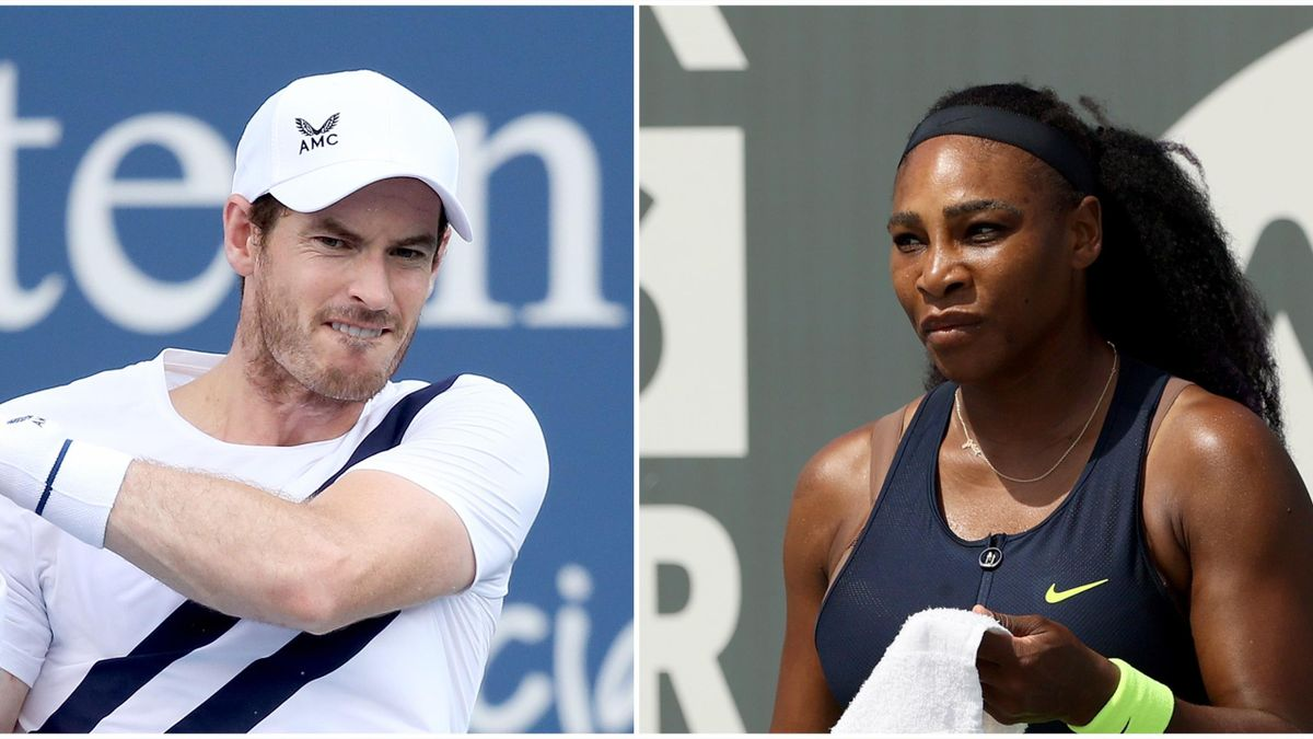 Andy Murray Serena Williams