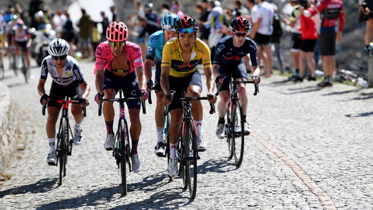 Richard Carapaz hat die Tour de Suisse 2021 gewonnen