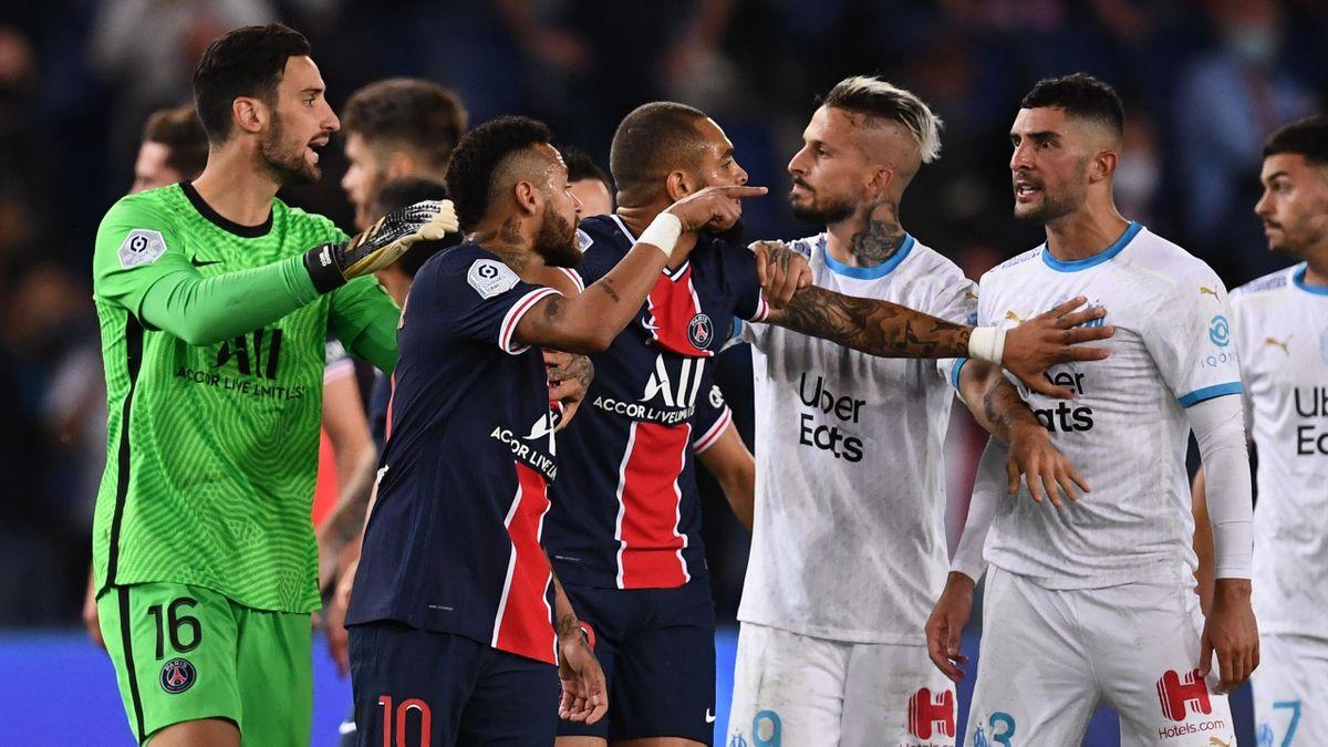 PSG-Fehlstart nach Niederlage gegen Olympique Marseille perfekt - Eurosport