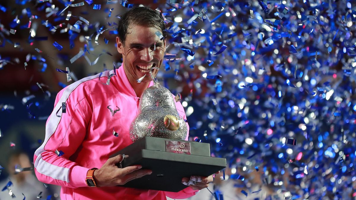 Rafael Nadal triumphiert bei ATP-Turnier in Acapulco