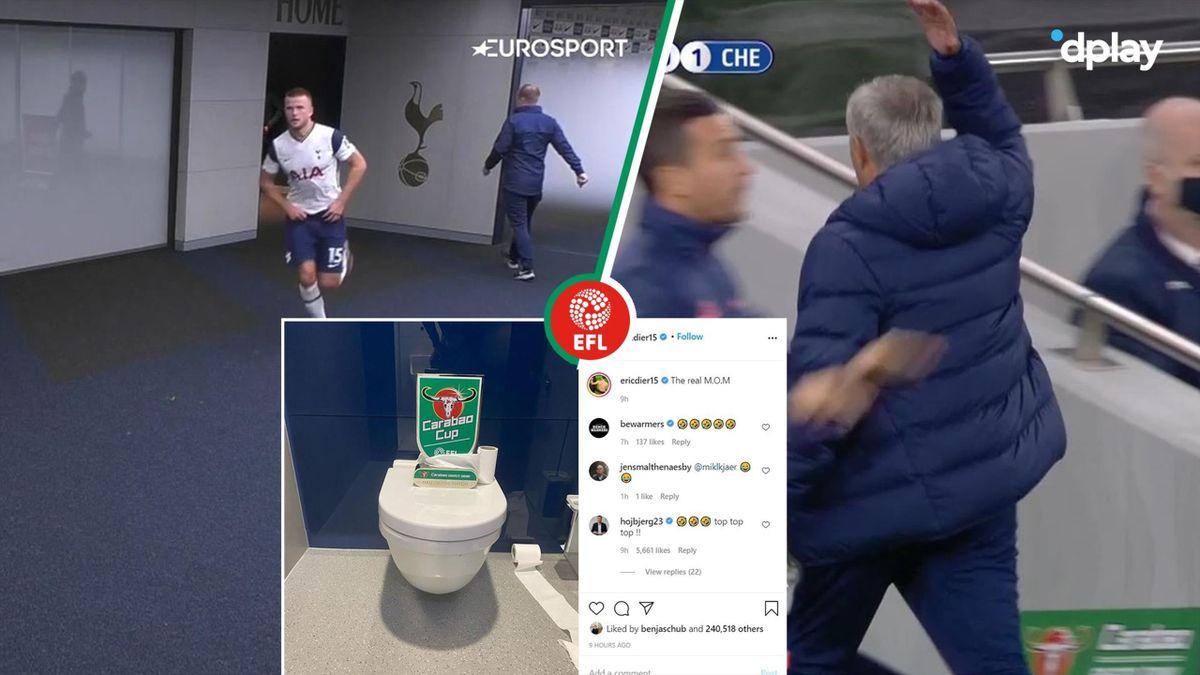Mourinho forlader banen i raseri – henter Dier på toilettet