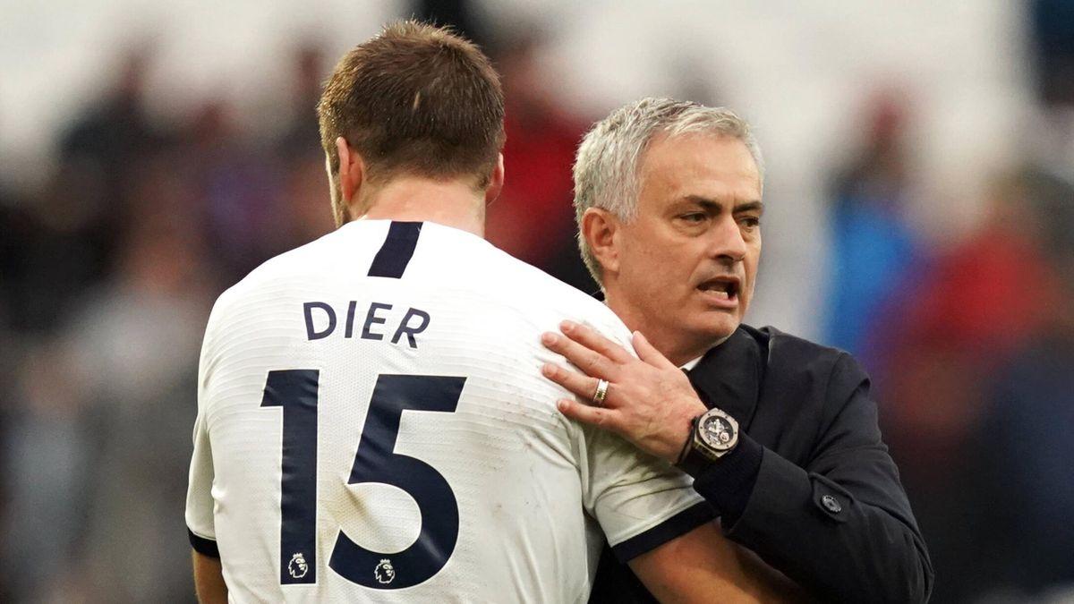 Eric Dier - José Mourinho   Tottenham Hotspur