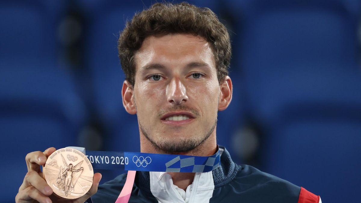 Pablo Carreño, bronce en Tokio 2020