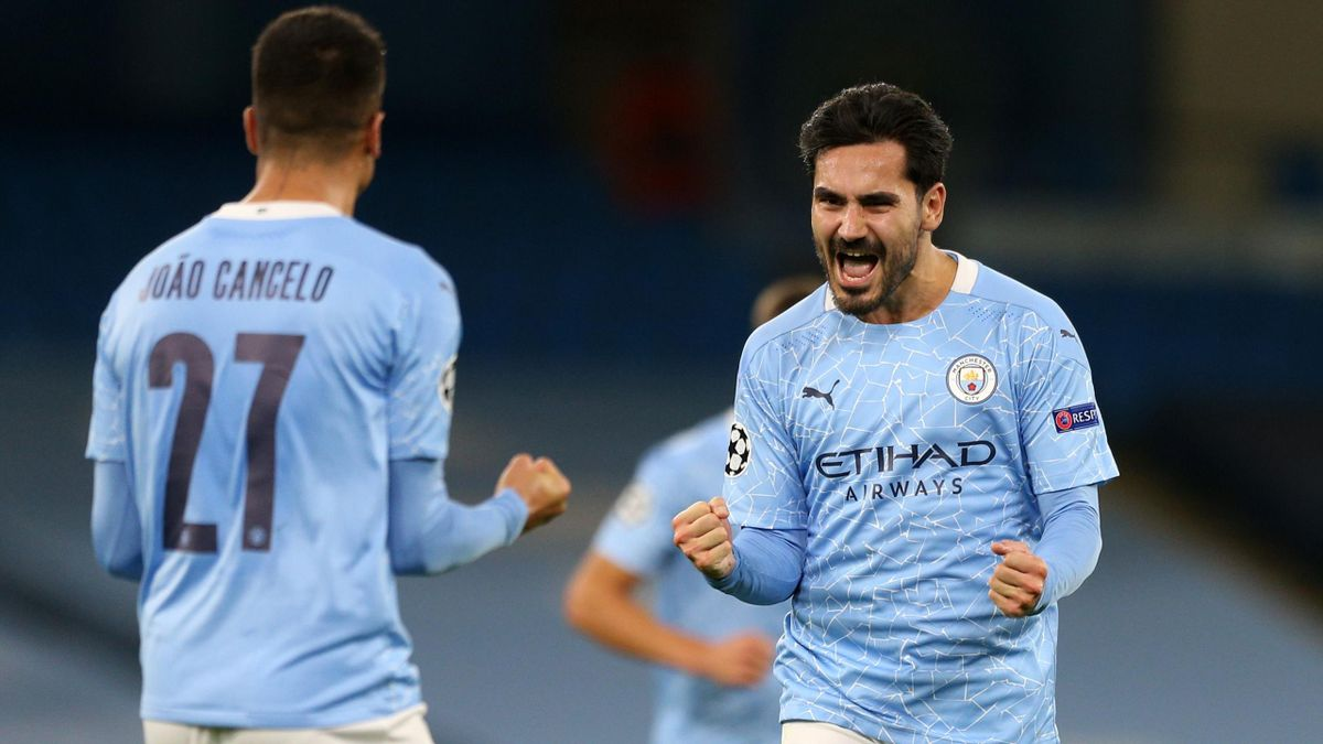 Ilkay Gundogan (right) and Joao Cancelo have been crucial for Man City