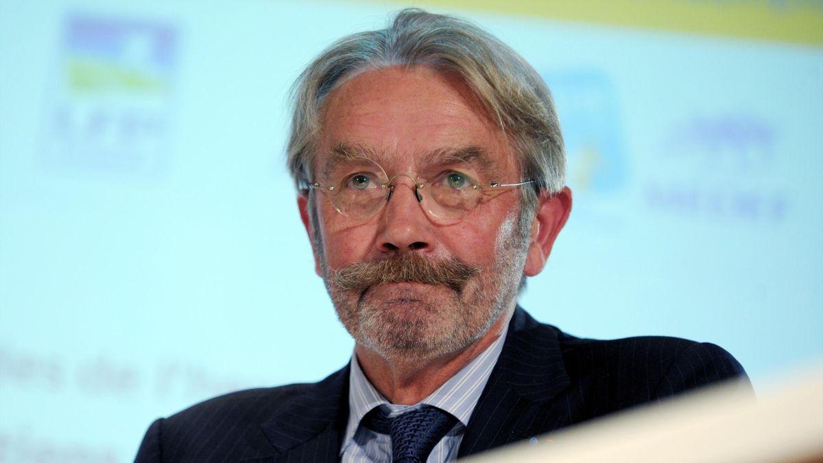 Frédéric Thiriez, le président de la LFP
