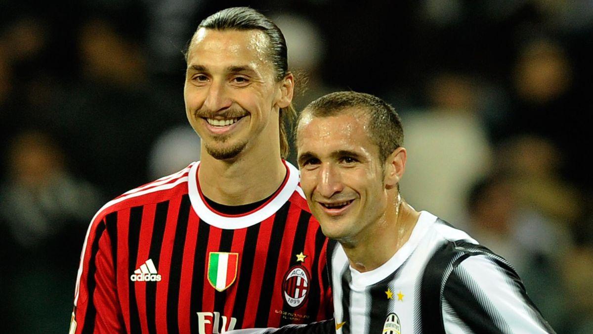 Ibrahimovic vs Chiellini