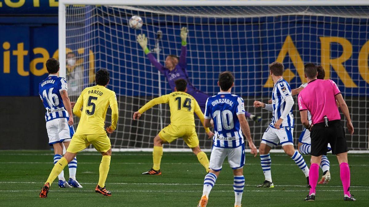 Villarreal, Real Sociedad