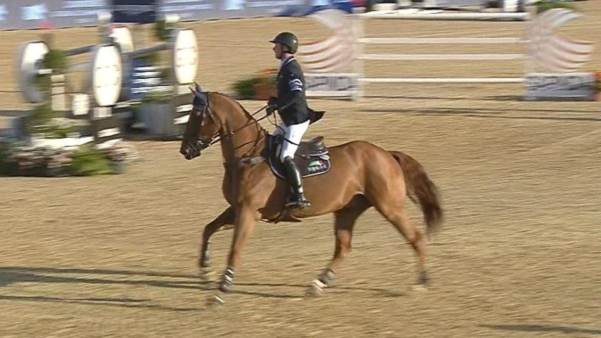 Equestrian Global Champions London - Ben Maher riding