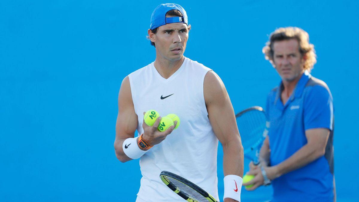 Rafa Nadal prepara su debut en el ATP 250 de Brisbane